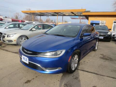 2015 Chrysler 200 for sale at Nile Auto Sales in Denver CO