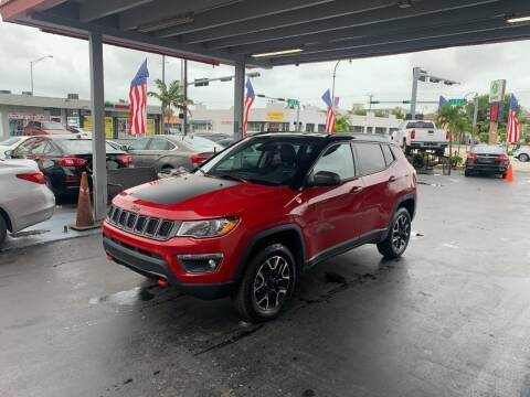 2020 Jeep Compass for sale at American Auto Sales in Hialeah FL