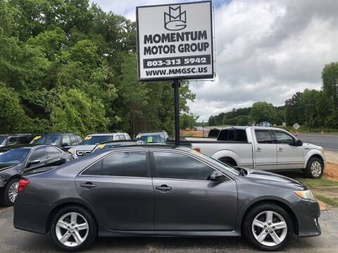 2013 Toyota Camry for sale at Momentum Motor Group in Lancaster SC