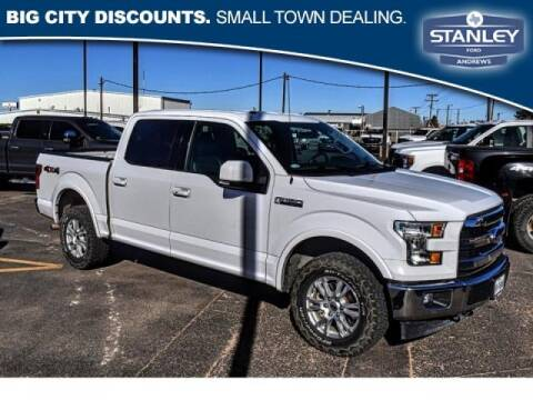 2017 Ford F-150 for sale at STANLEY FORD ANDREWS in Andrews TX