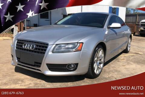 2011 Audi A5 for sale at Newsed Auto in Houston TX