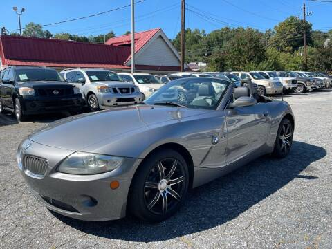 2005 BMW Z4 for sale at Car Online in Roswell GA