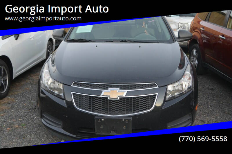 2012 Chevrolet Cruze for sale at Georgia Import Auto in Alpharetta GA