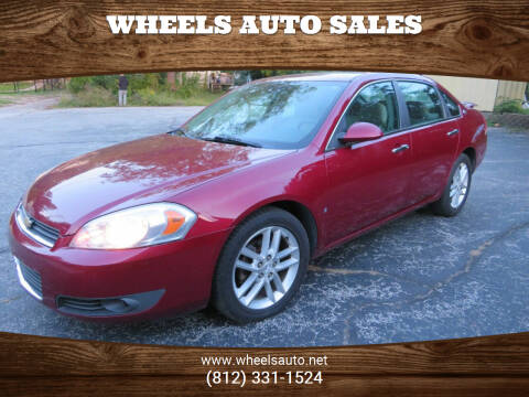 2008 Chevrolet Impala for sale at Wheels Auto Sales in Bloomington IN