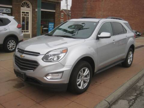 2017 Chevrolet Equinox for sale at Theis Motor Company in Reading OH