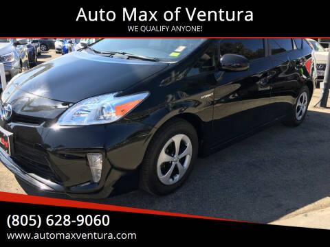 2014 Toyota Prius for sale at Auto Max of Ventura in Ventura CA
