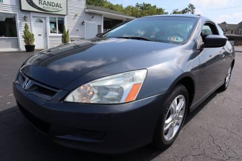 2006 Honda Accord for sale at Randal Auto Sales in Eastampton NJ