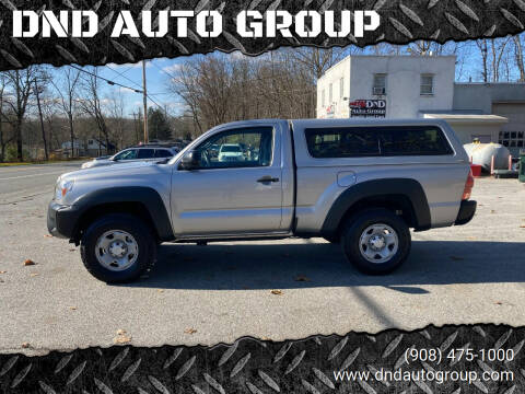 2014 Toyota Tacoma for sale at DND AUTO GROUP in Belvidere NJ