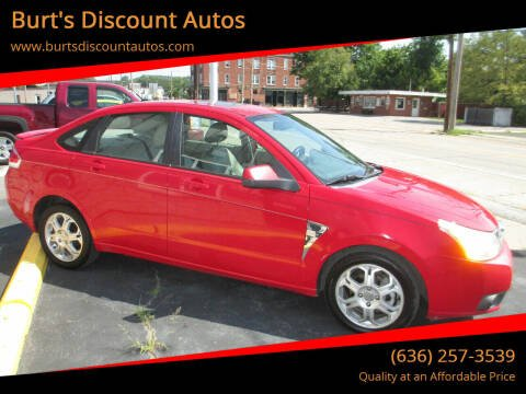 2008 Ford Focus for sale at Burt's Discount Autos in Pacific MO