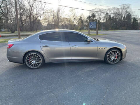 2015 Maserati Quattroporte for sale at USED CAR FACTORY in Janesville WI
