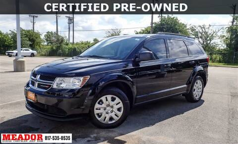 2019 Dodge Journey for sale at Meador Dodge Chrysler Jeep RAM in Fort Worth TX