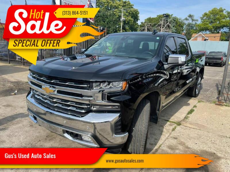 2019 Chevrolet Silverado 1500 for sale at Gus's Used Auto Sales in Detroit MI