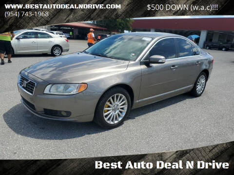2008 Volvo S80 for sale at Best Auto Deal N Drive in Hollywood FL