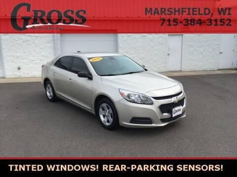 2016 Chevrolet Malibu Limited for sale at Gross Motors of Marshfield in Marshfield WI