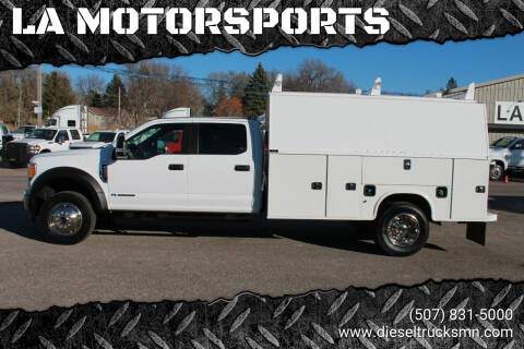 2017 Ford F-450 Super Duty for sale at LA MOTORSPORTS in Windom MN
