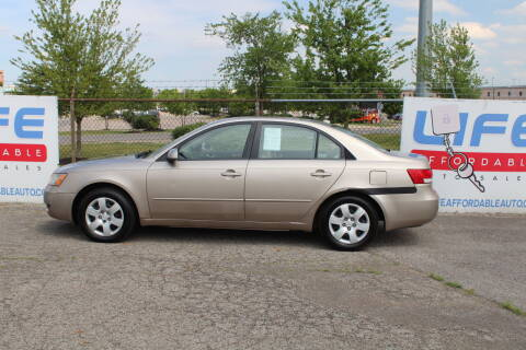 2007 Hyundai Sonata for sale at LIFE AFFORDABLE AUTO SALES in Columbus OH