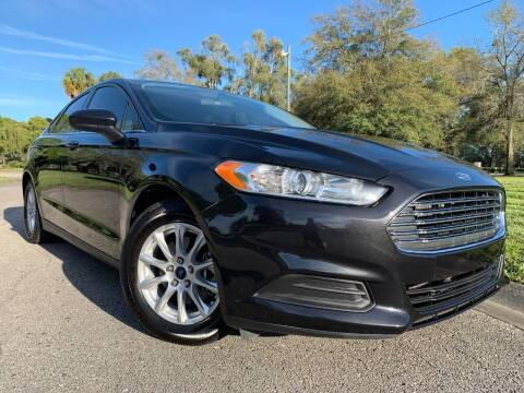 2015 Ford Fusion for sale at FLORIDA MIDO MOTORS INC in Tampa FL