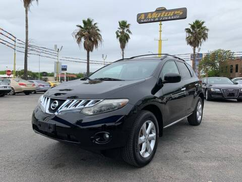2010 Nissan Murano for sale at A MOTORS SALES AND FINANCE in San Antonio TX