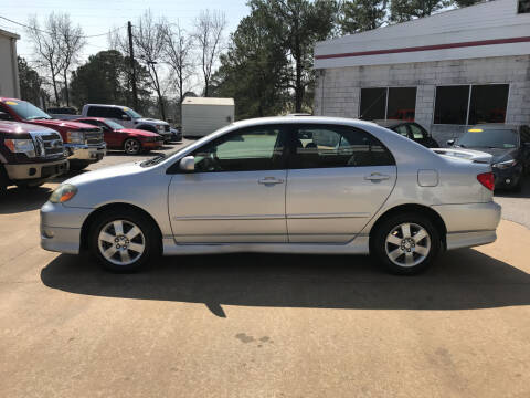 2007 Toyota Corolla for sale at Northwood Auto Sales in Northport AL