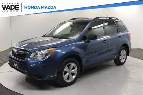 2015 Subaru Forester for sale at Stephen Wade Pre-Owned Supercenter in Saint George UT
