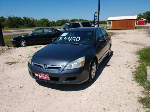 2007 Honda Accord for sale at Knight Motor Company in Bryan TX