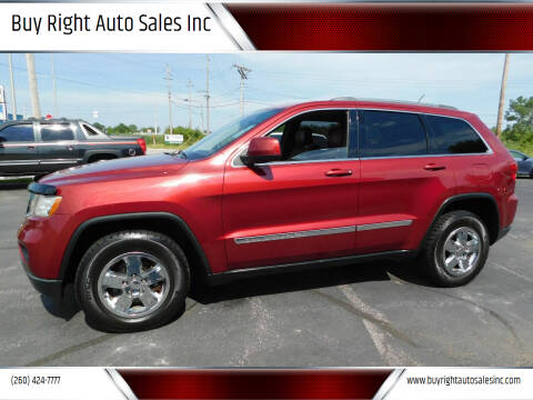 2012 Jeep Grand Cherokee for sale at Buy Right Auto Sales Inc in Fort Wayne IN