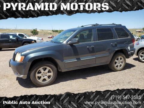 2008 Jeep Grand Cherokee for sale at PYRAMID MOTORS - Pueblo Lot in Pueblo CO