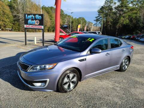 2012 Kia Optima Hybrid for sale at Let's Go Auto in Florence SC