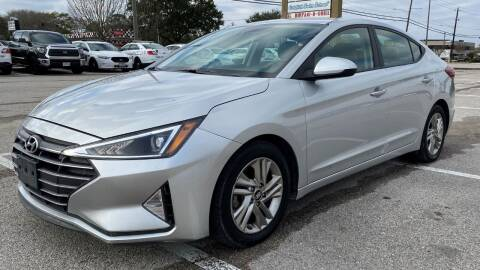 2019 Hyundai Elantra for sale at T.S. IMPORTS INC in Houston TX