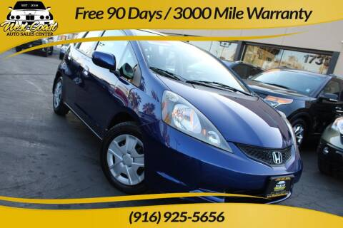 2012 Honda Fit for sale at West Coast Auto Sales Center in Sacramento CA