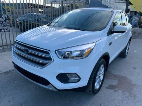 2017 Ford Escape for sale at MIAMI AUTO LIQUIDATORS in Miami FL