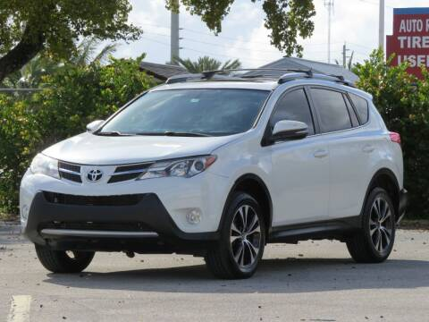 2015 Toyota RAV4 for sale at DK Auto Sales in Hollywood FL