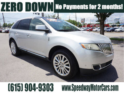 2011 Lincoln MKX for sale at Speedway Motors in Murfreesboro TN