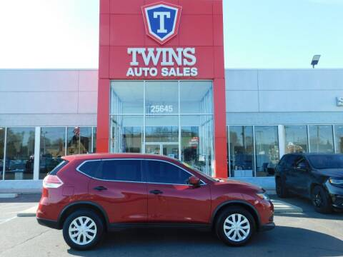 2016 Nissan Rogue for sale at Twins Auto Sales Inc Redford 1 in Redford MI