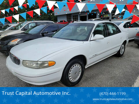 1999 Buick Century for sale at Trust Capital Automotive Inc. in Covington GA