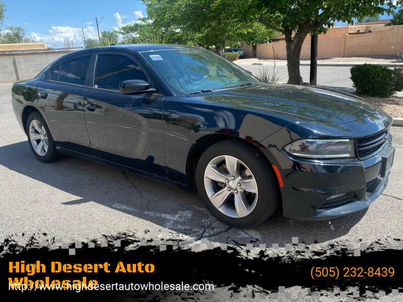 2017 Dodge Charger for sale at High Desert Auto Wholesale in Albuquerque NM