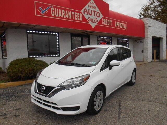 2017 Nissan Versa Note for sale at Oak Park Auto Sales in Oak Park MI