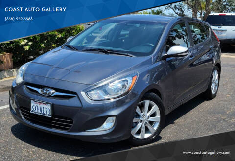 2013 Hyundai Accent for sale at COAST AUTO GALLERY in San Diego CA