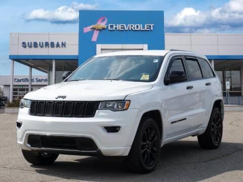 2018 Jeep Grand Cherokee for sale at Suburban Chevrolet of Ann Arbor in Ann Arbor MI