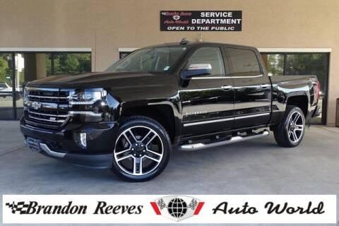 2017 Chevrolet Silverado 1500 for sale at Brandon Reeves Auto World in Monroe NC