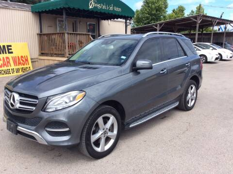 2018 Mercedes-Benz GLE for sale at OASIS PARK & SELL in Spring TX