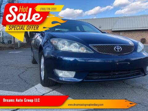 2006 Toyota Camry for sale at Dreams Auto Sales LLC in Leesburg VA