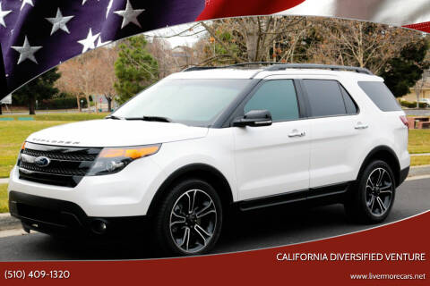 2014 Ford Explorer for sale at California Diversified Venture in Livermore CA
