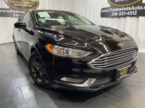 2018 Ford Fusion for sale at TRADEWINDS MOTOR CENTER LLC in Cleveland OH