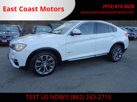2015 BMW X4 for sale at East Coast Motors in Lake Hopatcong NJ