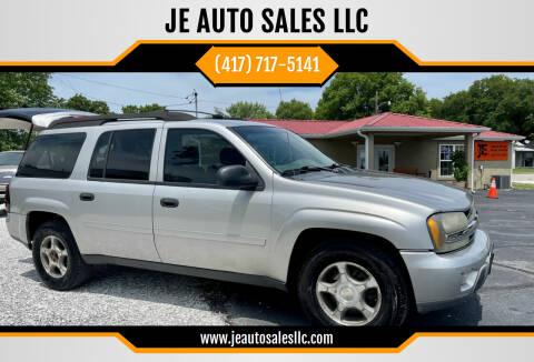2006 Chevrolet TrailBlazer EXT for sale at JE AUTO SALES LLC in Webb City MO
