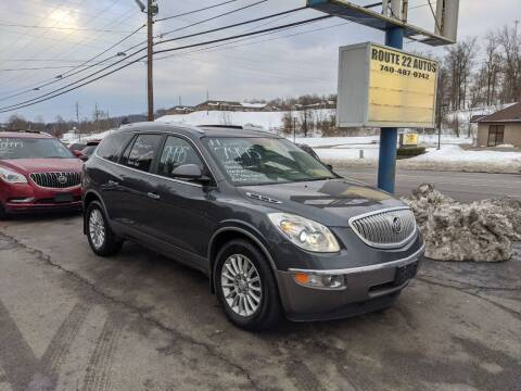2011 Buick Enclave for sale at Route 22 Autos in Zanesville OH
