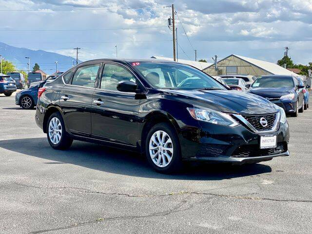 2019 Nissan Sentra for sale at INVICTUS MOTOR COMPANY in West Valley City UT