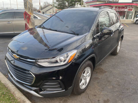 2018 Chevrolet Trax for sale at Right Place Auto Sales in Indianapolis IN