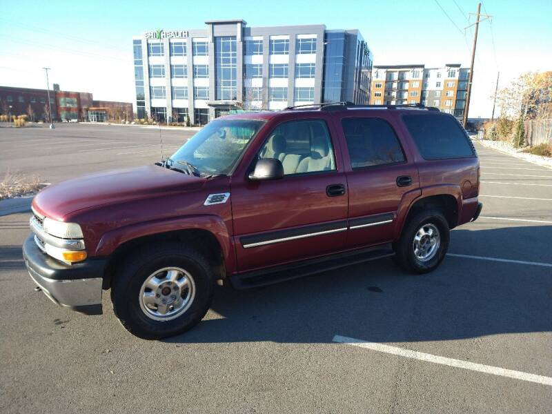 2004 Chevrolet Tahoe for sale at ALL ACCESS AUTO in Murray UT